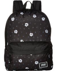 Vans - Realm Classic Backpack (diy Checkerboard) Backpack Bags - Lyst