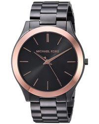 f00793919f42 Michael Kors - Mk8576 - Slim Runway (grey) Watches - Lyst