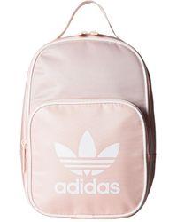 df1b93e632 adidas Originals - Originals Santiago Lunch Bag (icey Pink white) Bags -  Lyst