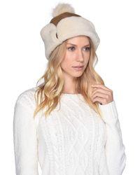 c1c5123468584 UGG - Up Flap Water Resistant Sheepskin Hat (metallic Chestnut) Caps - Lyst