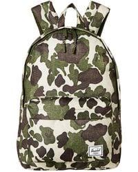 Lyst - Herschel Supply Co. Classic (black Crosshatch) Backpack Bags ... 34d682eb9b1ad