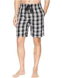 Jockey - Sleep Shorts (navy/white/turquoise Plaid) Men's Pajama - Lyst