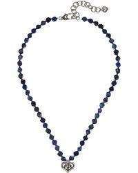 Brighton - Alcazar Heart Short Necklace - Lyst