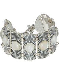Lucky Brand - Metal Statement Bracelet (silver) Bracelet - Lyst