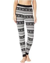 fb2544d504a3a Rag & Bone Charlize Sweater-Knit Cuffed Leggings in Gray - Lyst