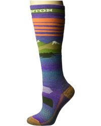Burton - Party Sock (oatmeal Heather) Women's Crew Cut Socks Shoes - Lyst