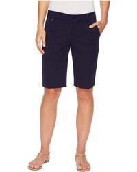 Lauren by Ralph Lauren - Stretch Cotton Shorts - Lyst