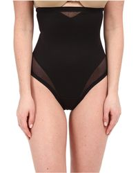 Miraclesuit - Sheer Extra Firm Shaping High Waist Thong - Lyst