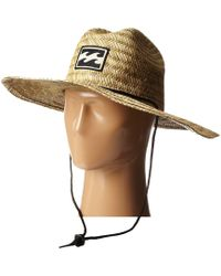 a12547993b51a Billabong - Tides Hat (natural) Safari Hats - Lyst