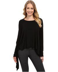 Hard Tail - Hanky T-shirt (black Solid) Women's T Shirt - Lyst