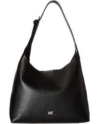 MICHAEL Michael Kors - Junie Medium Hobo (maroon) Hobo Handbags - Lyst