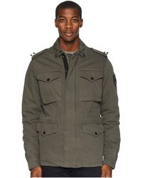 Versace Jeans - Military Jacket (thyme) Men's Coat - Lyst