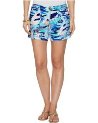 Lilly Pulitzer - Callahan Knit Ponte Shorts (multi Pier Pressure) Women's Shorts - Lyst