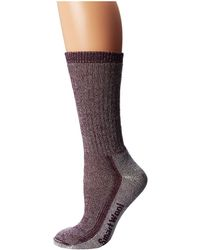Smartwool - Hike Medium Crew (dark Cassis) Women's Crew Cut Socks Shoes - Lyst