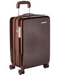 Briggs & Riley - Sympatico - Domestic Carry-on Expandable Spinner (onyx) Luggage - Lyst