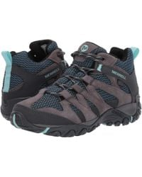 5d98c02afe Merrell Alverstone Waterproof Hiking Shoe in Gray - Save 20% - Lyst