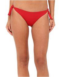 La Perla - Dunes Side-tie Bikini Bottom (red) Women's Swimwear - Lyst