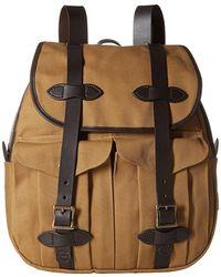 Filson - Leather Straps Rucksack - Lyst
