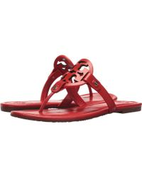 a0940c1e6903 Tory Burch - Miller Flip Flop Sandal (light Makeup) Women s Shoes - Lyst