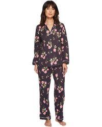 Carole Hochman | Soft Jersey Notch Collar Pajama | Lyst