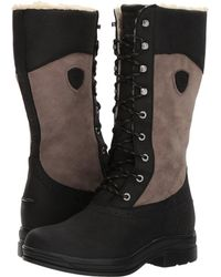 Ariat - Wythburn H2o Insulated (black) Women's Lace-up Boots - Lyst