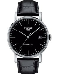 Tissot - Everytime Swissmatic - T1094071605100 (silver/black) Watches - Lyst