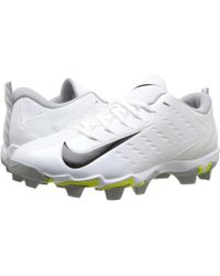 9131aa7adf4 Nike - Vapor Shark 3 (white metallic Silver university Red) Men s Cleated