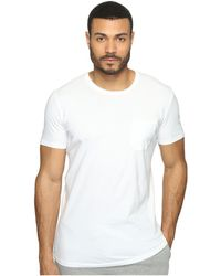 Richer Poorer - Crew Pocket Tee (charcoal) Men's T Shirt - Lyst