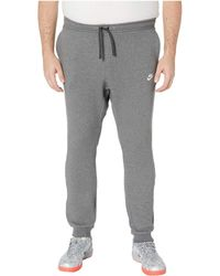 new product a1bb7 c9849 Nike - Big Tall Nsw Club Jogger (charcoal Heather white) Men s Casual Pants