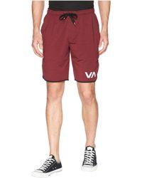RVCA - Va Sport Shorts Ii (tawny Port) Men's Shorts - Lyst