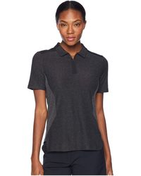 Nike - Zonal Cooling Short Sleeve Statement Polo (black/anthracite/black) Women's Clothing - Lyst