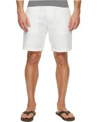 Nautica - Linen Cotton Shorts (bright White) Men's Shorts - Lyst