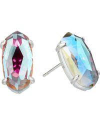 Kendra Scott - Betty Earrings (rose Gold Dichroic Glass) Earring - Lyst