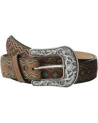 Ariat - Zigzag Belt (brown) Women's Belts - Lyst
