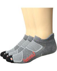 Feetures! - Merino+ Cushion No Show Tab 3-pair Pack - Lyst
