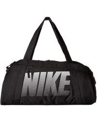 37a43b5461 Nike - Gym Club Bag (black black vast Grey) Bags - Lyst