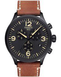 Tissot - Chrono Xl - T1166173605700 (silver/beige) Watches - Lyst