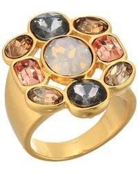 Vince Camuto - Drama Ring (worn Gold/smoky Quartz/greige/light Grey Opal/vintage Rose) Ring - Lyst