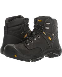 e50e02fd0a97b Keen Utility - Mt Vernon Mid (black) Men s Industrial Shoes - Lyst