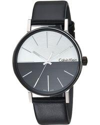 Calvin Klein - Boost Watch - K7y21ccx (silver/cool Grey/black) Watches - Lyst