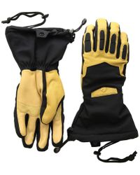 Obermeyer - Guide Gloves (black) Over-mits Gloves - Lyst