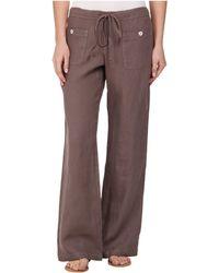 Allen Allen - Linen Long Pant Ll9497 - Lyst