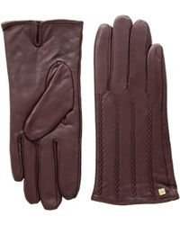 Lauren by Ralph Lauren - Modern Hand Crafted Points Touch Gloves (black) Extreme Cold Weather Gloves - Lyst