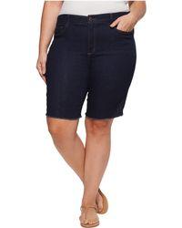 NYDJ - Plus Size Briella Shorts W/ Fray Hem In Rinse (rinse) Women's Shorts - Lyst