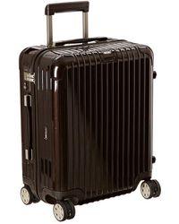 Rimowa - Salsa Deluxe - Cabin Multiwheel(r) (brown) Pullman Luggage - Lyst