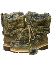 Sam Edelman - Blanche (grey Multi/flint Grey Alpine Fur/velutto Suede Leather) Women's Shoes - Lyst