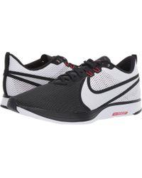 889433f18176 Nike - Zoom Strike 2 Running Shoe (black white red Orbit anthracite