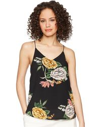 Bishop + Young - Enchanted Garden Racer Tank Top - Lyst