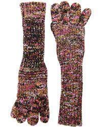 San Diego Hat Company - Kng3603 Yarn Gloves (multi) Dress Gloves - Lyst