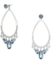 Swarovski - Tosha Pierced Earrings - Lyst